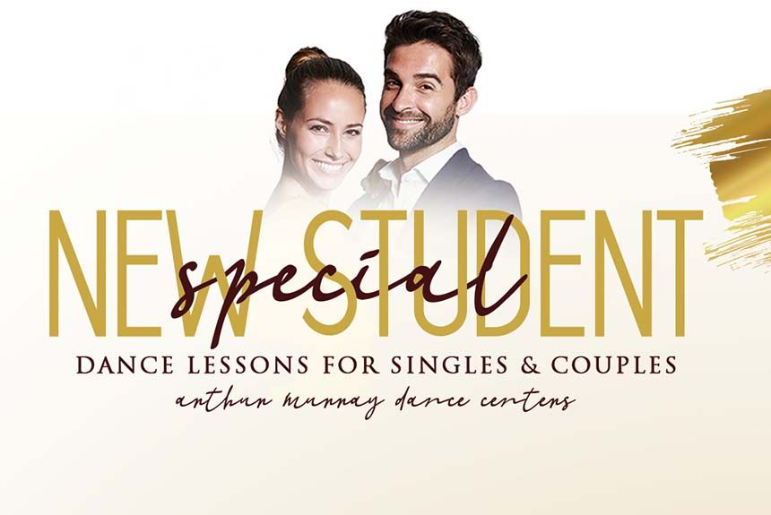 New Student Offer Banner Dance Lessons For Singles & Couples
